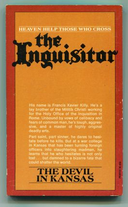 THE INQUISITOR: THE DEVIL IN KANSAS; NUPLEX RED; HIS EMINENCE, DEATH.