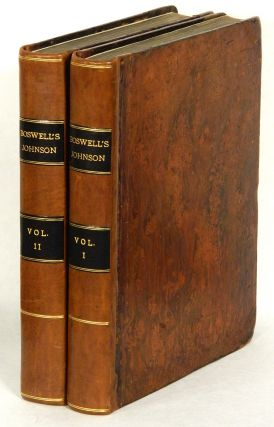 THE LIFE OF SAMUEL JOHNSON; Comprehending an Account of His Studies and Numerous Works, in...